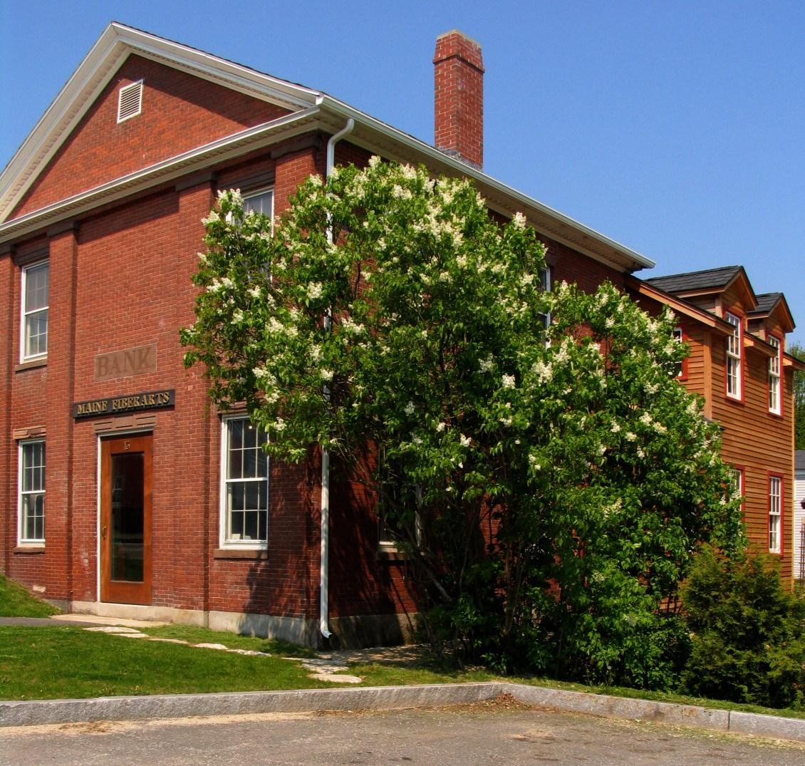 Maine Fiberarts building