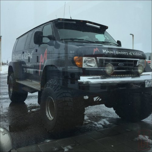This is the vehicle you need to get around the backcountry in Iceland.