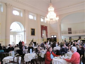 THe Pump Room is an elegant and impressive Georgian retreat built by Thomas Baldwin and John Palmer in 1795. ©Hilary Nangle