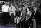 Traditional singer, Jimmy O'Brien pictured in the Killarney pub which carried his name - with RTE Radio presenter, Peter Browne. Included are seated: Paddy Cronin, Paudie O'Connor, Aoife Ní Chaoimh and Connie Cronin. ©Photograph: John Reidy 10-9-2006