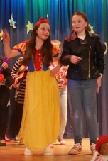 Alice and Alison perform in Snow White and The Seven Punks.