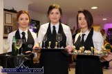 Sisters, Niamh (left) and Teresa Mannix from Listry pictured with Samantha Roche, Beaufort on catering duty at the launch of the eighth generation Passat Variant at S. Divane & Sons in Castleisland on Friday night. ©Photograph: John Reidy