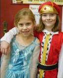 Emily Walsh and Bella Harmon who starred in Rumpelstiltskin.