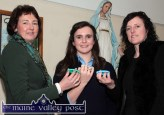 Principal, Katerina Broderick (left) pictured with Ellen Sheehan, Safe Internet Ambassador and Anette Leen, St. Joseph's Presentation Transition Year co-ordinator at the launch of their school's internet safety initiative. ©Photograph: John Reidy