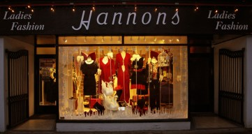 Hannon's Ladies Fashion Shop which celebrated its 75th year in business in 2012. ©Photograph: John Reidy
