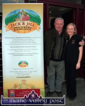 Jerry Courtney and Breda McCarthy pictured at the launch of The Longest Day Event 2015 at Tom McCarthy's on Monday evening. ©Photograph: John Reidy