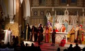 The drama unfolds as the story of is played out at the Church of Saints Stephen & John during the Good Friday Dramatisation of the Passion and Death of Christ by the Tralee based St. John's Parish Actors and Choir. ©Photograph: John Reidy 3-4-2015