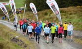 Marching bravely to the start of Saturday's John Lenihan / Lee Strand B-Wildered Wilderness Challenge at Glanageenty. ©Photograph: Domnick Walsh / Eye Focus LTD