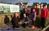 Residents' association members gathering to celebrate the completion of the renewal works at Cahereen Heights on Thursday evening. Included are: Charlie Farrelly, Bernard Harmon, Rebecca Reidy and Jennifer Murphy. Back from left: Billy and Eamonn Moriarty, Jane Reece, Mary Conway, Tess Murphy, Margaret O'Mahony, Peter Michno and Pat Hartnett. ©Photograph: John Reidy