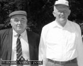 Currow men at the 2000 Castleisland Races were: Tim Kerin (left) and Con Galvin. ©Photograph: John Reidy 25/06/2000