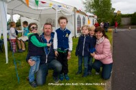 Cahereen Heights residents: Ben, Tom and Tom Jnr McCarthy with Tom's sister, Bernie Sinnott with her children: Shana and Adam at the estate party in May. ©Photograph: John Reidy 16-5-2015