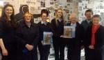 Presentation Secondary School students and Presentation Sisters, from left: Elizabeth O'Connor, Sr. Teresa, Kathleen O'Sullivan, Katie Flynn, Sr. Maureen, Sr Elizabeth and Sr Margaret.
