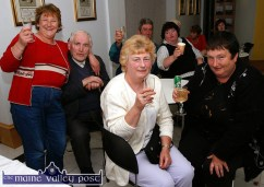 Having a ball at Divane's open invitation 50th anniversary party ten years ago night were: Sheila Herlihy, Willie Lyons, Bridie Geaney and Margaret Prendiville. ©Photograph: John Reidy 17/06/2005