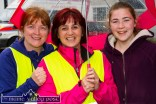 Locals: Kay Reidy (left) with: Mags O'Sullivan and Kelsey Horan at the start of the annual Humphrey Murphy Memorial Road Race on Limerick Road, Castleisland on Friday evening. ©Photograph: John Reidy