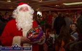 Santa on patrol at the Castleisland Christmas Craft Fair at the River Island Hotel on Saturday 28-11-2015. Photograph: John Reidy