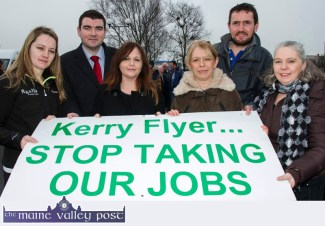 Private Bus Operators Protest Meeting in Castleisland 19-2-2016
