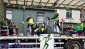 The all-action An Riocht AC float in the Castleisland St. Patrick's Day Parade on Thursday. ©Photograph: John Reidy