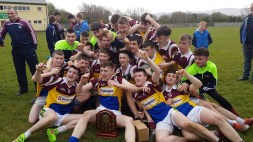Cordal/Scart team ecstatic after winning the Division 3A Minor Final.