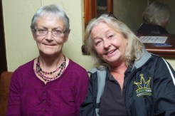 Attending the launch of the 2016 Garry McMahon Singing Weekend, Thursday 29th September, The Ramble Inn, Abbeyfeale, Co Limerick. Bridie Looney, Co Cork and Eileen Moynihan-Tralee. JDM Photography