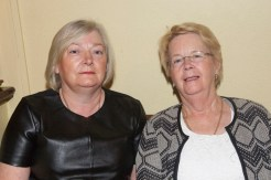 At the launch night for the 2016 Garry McMahon Singing Weekend, Thursday 29th September, The Ramble Inn, Abbeyfeale, Co Limerick. Mary O'Connor-Tralee and Maeve O'Brien-Listowel. JDM Photography