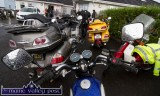 All Bikes Great and Small before Sunday morning's Honda Run in aid of Castleisland Day Care Centre. ©Photograph: John Reidy