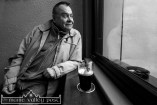 Johnny Huggard pictured at Kearney's Bar during the presentation to the Jack and Jill Foundation of the bar's Coffee /Tea Jar Charity Fund. ©Photograph: John Reidy
