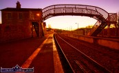 A cold November evening at Farranfore Railway Station. ©Photograph: John Reidy