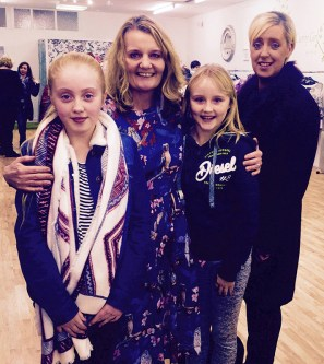 Erin Keely, Lorna Keane, Keelan Coffey and Ellen Keely at the opening of the Ivy Lane Boutique. Photograph Courtesy of Hannons of Castleisland.