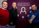 At the AIB / Macra information night at AIB Castleisland were, from left: Donal Whelton, AIB Agri Advisor; Ger O'Connor, manager AIB Castleisland and Trevor Coffey, Beaufort. ©Photograph: John Reidy