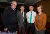 At Thursday's Castleisland Community College / Castleisland AFC All Weather Pitch Information Evening at the River Island Hotel were: Hugh O'Connell, Chairman of Castleisland Community College Board of Management; Seán O'Keeffe, Chairman and joint treasurer of the Kerry District League; Patrick O'Rourke, Chairman of Castleisland AFC and event MC and Carmel Kelly, Principal of Castleisland Community College. ©Photograph: John Reidy