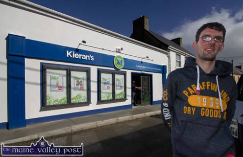 Kieran McAuliffe had two Lucky Dip wins in the Knocknagoshel GAA Club Lotto on the same week in which he opened his new XL Store in the village. ©Photograph: John Reidy