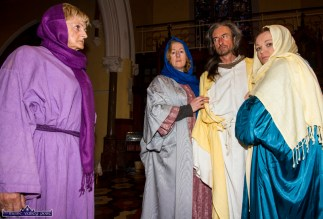 Good Friday Passion Play Rehearsals 10-4-2017