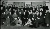Éamonn de Valera visits Killarney, accompanied by the current Tommy Mac's grandfather. My great grandfather Mick Pierce is on the end of the middle row on the left.