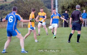 Daniel Kearney with the ball in Cordal's game against Glenflesk. CúlPix / Nora Fealey 2017
