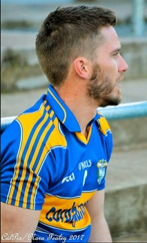 Jamie Cahill back from Australia and kitted out for Cordal's game against Glenflesk. Nice to see you back Jamie! CúlPix / Nora Fealey 2017