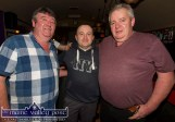 J.J. Broderick (left) and Jimmy Horan helping Joe O'Callaghan (centre) to celebrate his 50th birthday at The Shoemaker's Bar. ©Photograph: John Reidy