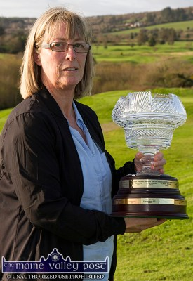 Julianne Browne was named Golfer of the Year at the Castleisland club's end of year presentations on Sunday afternoon. ©Photograph: John Reidy