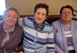 Mary Ann Quirke, Nell Collins and Nora Mary Harnett at the Abbeyfeale Community Alert Seniors Lunch at Fr. Casey's GAA Clubhouse.