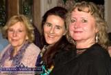Catherine and Ailís Brosnan with Mary Lawless at the Sharon Shannon Concert at Ó Riada's Bar and Restaurant on Friday night. ©Photograph: John Reidy