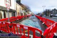 Lower Main Street this morning and the first section to get the Irish Water new supply pipe treatment. ©Photograph: John Reidy