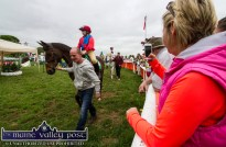 Click, click: Colour and excitement and an ideal opportunity for photographs at Castleisland Races on Sunday afternoon. ©Photograph: John Reidy