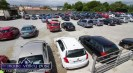 Castleisland Co-Op Mart yard filling up before Munster's only Drive-In Bingo Session on Sunday afternoon. ©Photograph: John Reidy