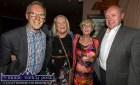 At the Mein National School Reunion at Ó Riada's Bar and Restaurant, Ballymacelligott were from left: John Edwards, Mary B. O'Sullivan, Jo Flynn and Dan Keating. ©Photograph: John Reidy