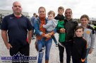 Waiting for the start of the annual Paudie Fitzmaurice Memorial Charity Tractor Run in Castleisland were: Ted O'Connor, Cordal (left) with: Liz and Conor Greaney, Lorcan, Kevin, Ronan and Érin O'Connor. ©Photograph: John Reidy 9-9-2018