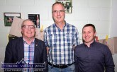 Cllr. Bobby O'Connell pictured with Maurice Casey and James O'Sullivan at the launch of the new science lab at Castleisland Community College on Friday night. ©Photograph: John Reidy