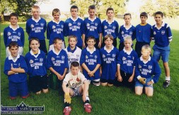 The Kerins O'Rahilly's U-12 football team pictured before their Tralee Town League game with Austin Stacks in September 1999. That's David Moran (back left) beside Tommy Walsh. Can anyone in the KO'R club supply the rest of the names ? ©Photograph: John Reidy 9-9-1999