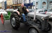 The late Paudie Fitzmaurice pictured on his vintage tractor during the 2007 St. Patrick's Day Parade in Castleisland. ©Photograph: John Reidy 17-3-2007