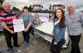 Supporters and beneficiary representatives pictured at the launch of the 2019 Paudie Fitzmaurice Memorial Tractor and Vintage Car and Motorbike Run on the yard of the Castleisland Co-Op Mart. Included are front from left: Cllr. Charlie Farrelly, Mary Fitzmaurice, Martina O'Donoghue and Martina McCarthy, Castleisland Day Care Centre and John Casey. ©Photograph: John Reidy