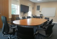 A fully interactive meeting room at Island Point, Tralee Road, Castleisland.