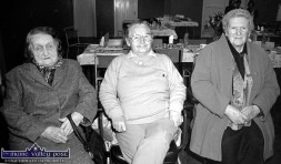 At a Wednesday Over 55 Social Club gathering hosted by Knocknagoshel Women's Group at the local community centre in 1998 were, from left: Catherine Herlihy, Knocknagoshel; Eileen O'Connor, Castleisland and Hannah Canty, Lyreacrompane. ©Photograph: John Reidy 25-3-1998